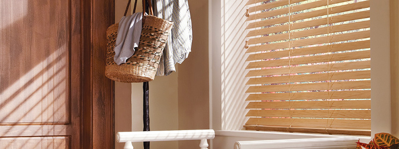 Hunter Douglas vertical and horizontal blinds at Rainbow Paint and Decorating in Birmingham.