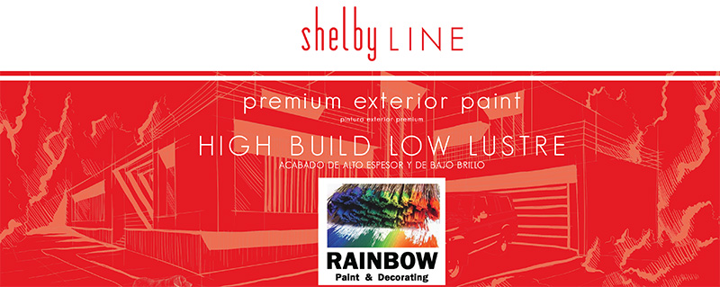 Rainbow Paints Exterior Paints