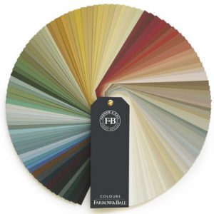 Farrow and Ball Paint Color Wheel