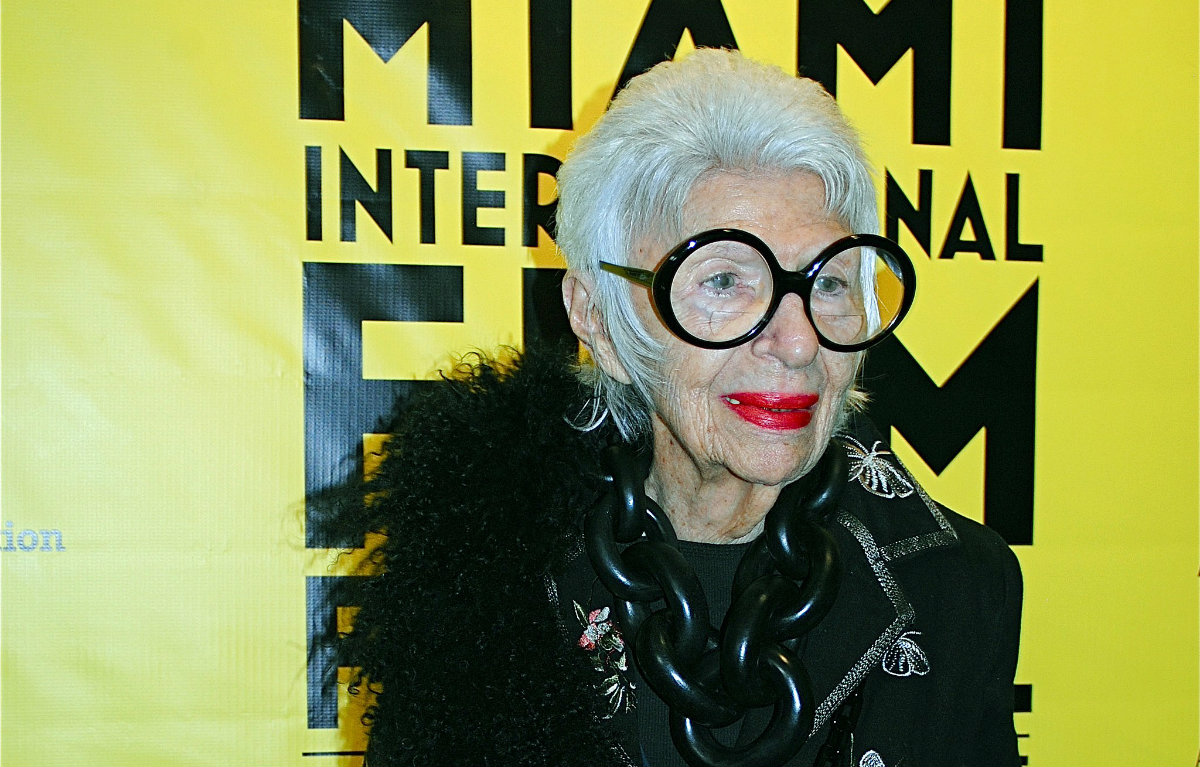 The Powerful Duo of Hunter Douglas and Iris Apfel