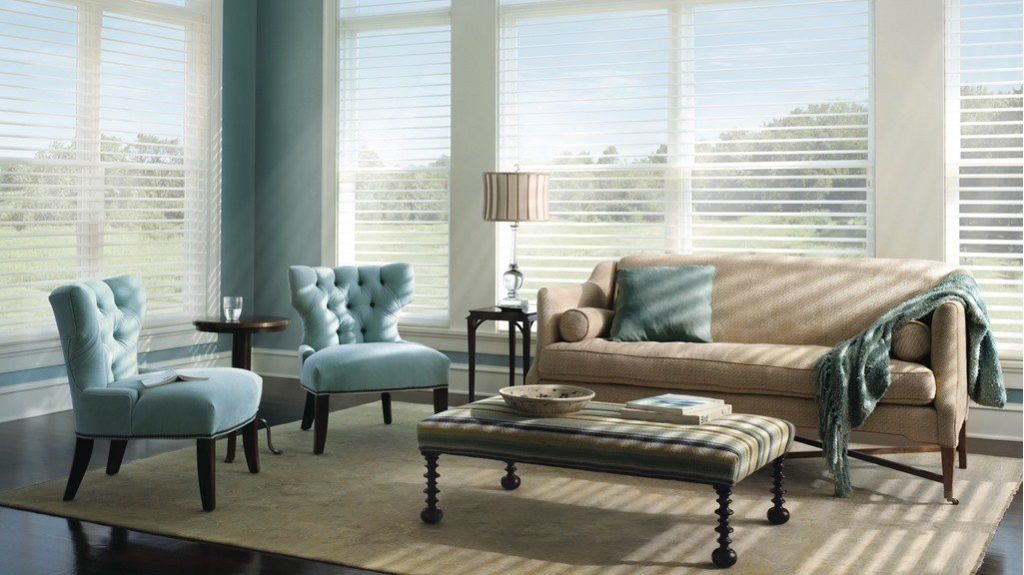 Window Treatments, Blinds, Shutters and Shades in Birmingham, Alabama (AL) like Silhouette Ultraglide in Livingrooms