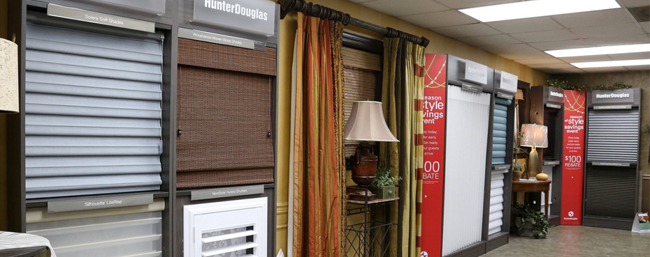 Custom Curtains, Draperies and Hunter Douglas Shades in Birmingham, Alabama (AL)