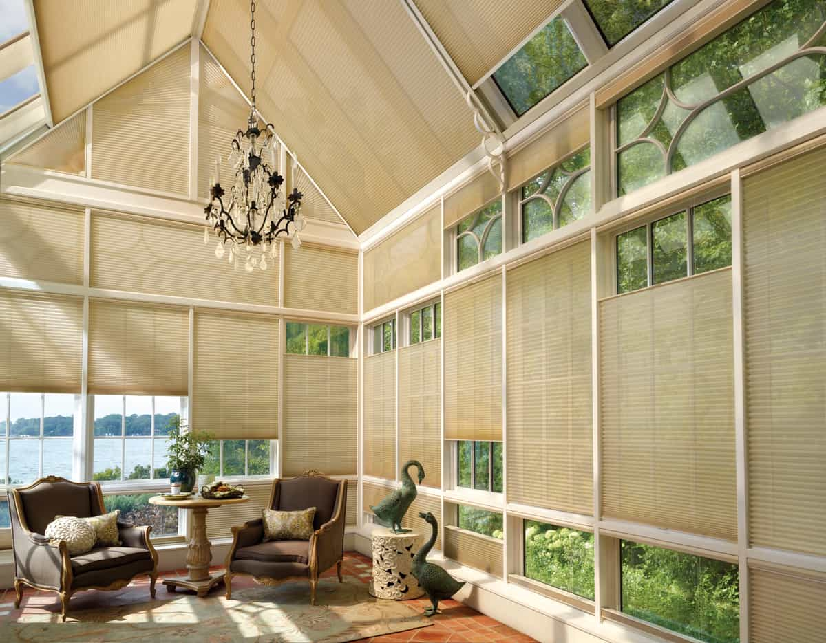 Benefits of Duette Honeycomb Shades for Homes in Birmingham, Alabama (AL) like Style, Customization and Privacy