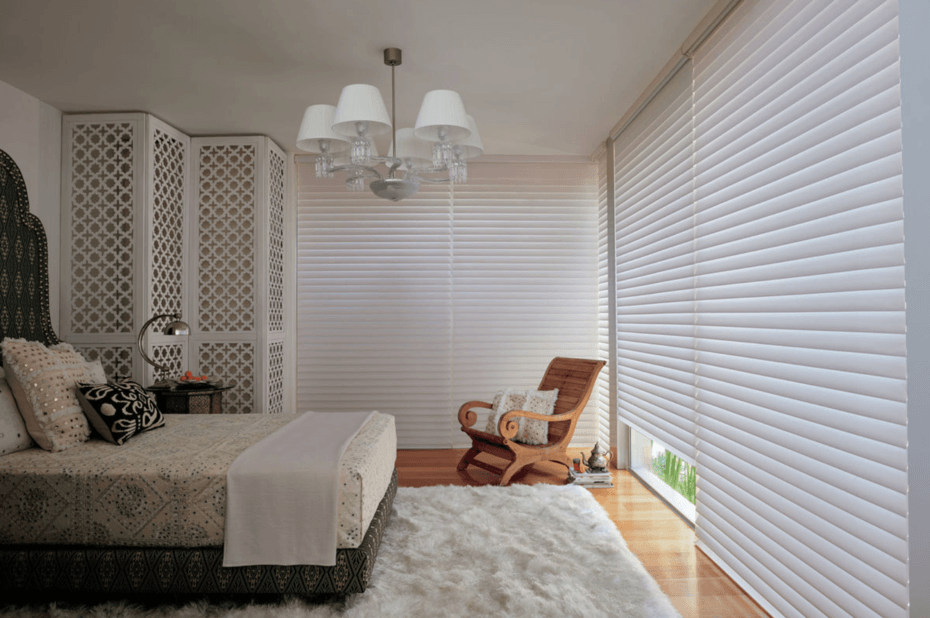 Choosing Premium Window Shades for Homes Near Birmingham, Alabama (AL) like Silhouette for Bedroom Light Control