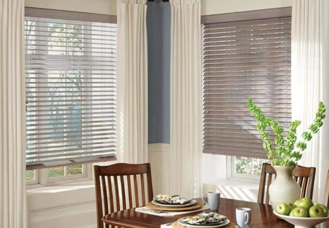 Why you Need Blinds for Home Windows Near Birmingham, Alabama (AL) Parkland Wood for Dining Rooms