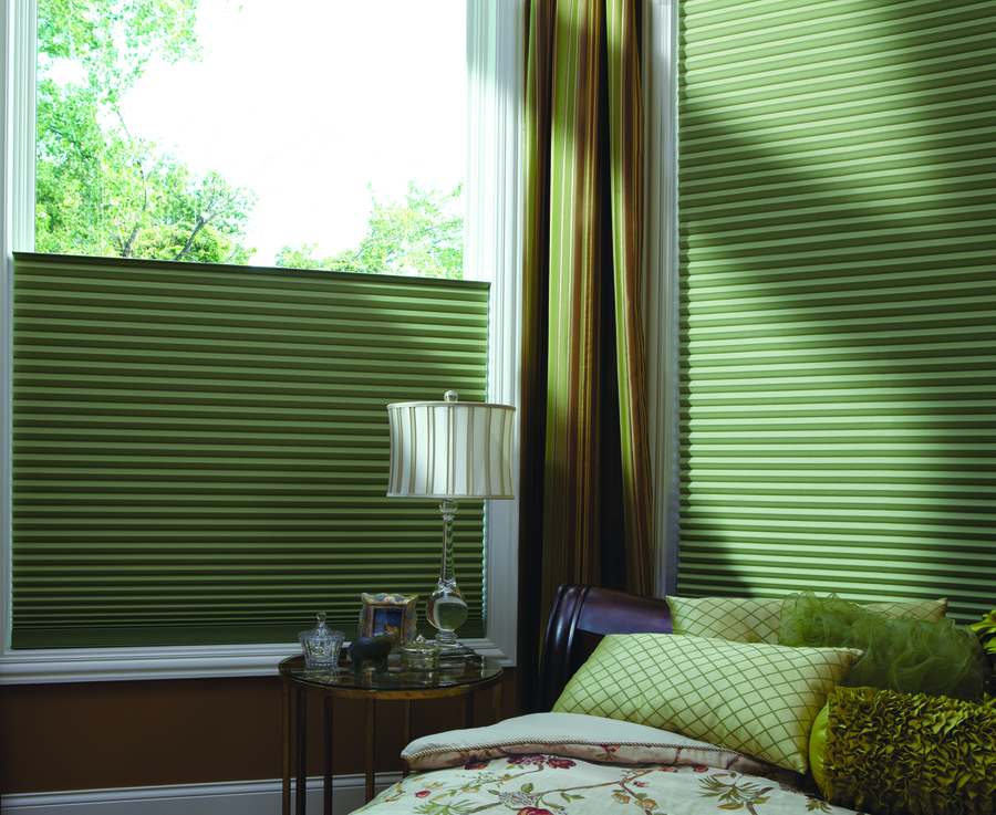 Benefits of Duette® Honeycomb Shades near Birmingham, Alamaba (AL), for Sunny Rooms