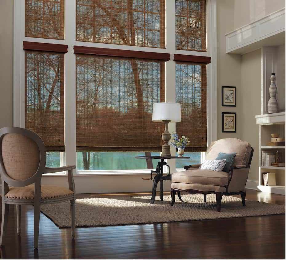 Woven Woods Shades for your Home Near Birmingham, Alabama (AL) like Provenance® for your Living Room