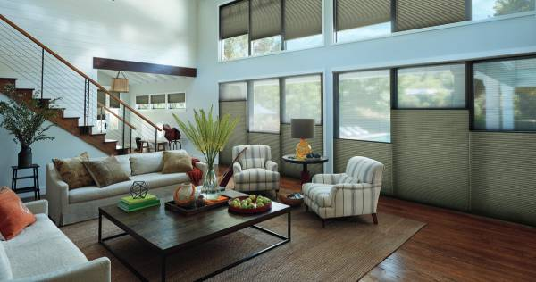 Cellular Shades from Hunter Douglas near Birmingham, Alabama (AL) including custom Duette® Honeycomb Shades